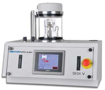 denton vacuum desk v thin film deposition solution