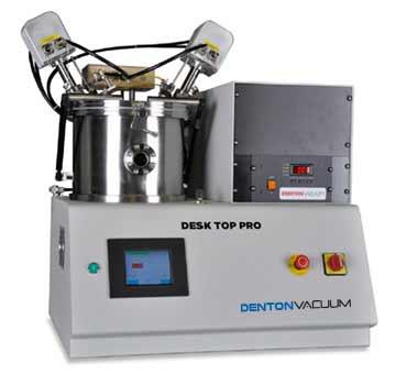 denton vacuum desktop pro thin film deposition solution