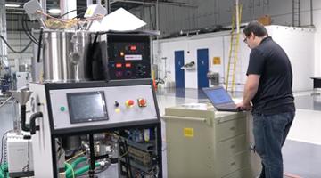 Denton Vacuum production floor